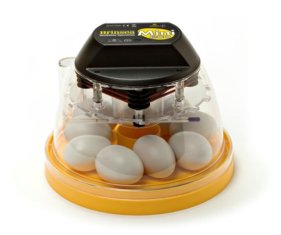 Lille rugemaskine fra brinsea til 7 æg