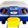 Real rugemaskine til høns med plads til 24 æg