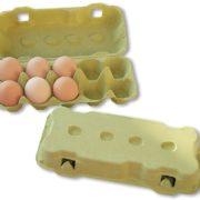 Gule Æggebakker til 10 æg