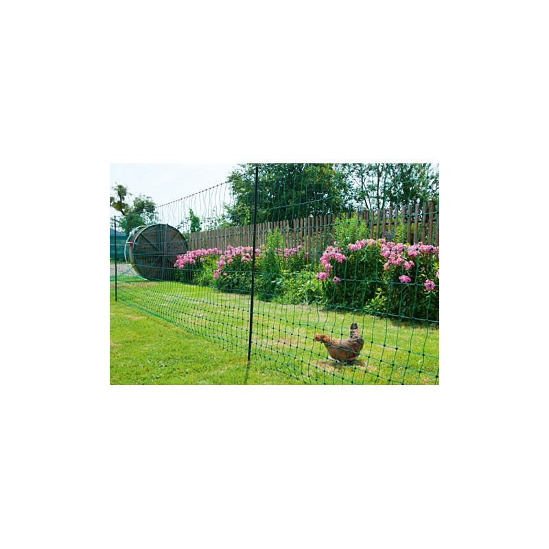 Flytbar hegn til høns 25 meter